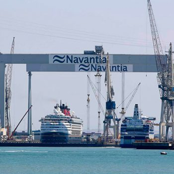 Mobilization of Navantia's technical service - XOne